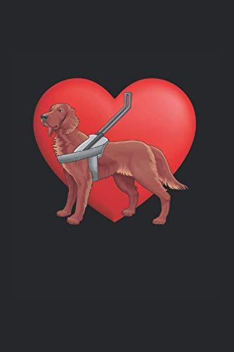 Notizbuch: Sehenden Hund Geschenkservice Blindenführhund Notizbuch DIN A5 120 Seiten für Notizen Zeichnungen Formeln   Organizer Schreibheft Planer Tagebuch