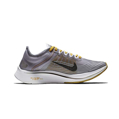 Nike Women's WMNS Zoom Fly SP Fitness Shoes, Multicolour (Black/PEAT Moss-White 001), 5 UK