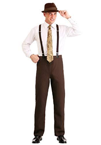 Fun Wear Disfraz de Clyde para hombre - Marrn - 2X