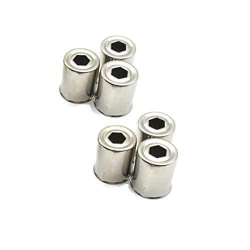 Ymhan® (6 Piezas/Lote) Piezas de Horno de microondas Piezas de magnetrón Cap de Acero Magnetron Reemplazo Ajuste para Galanz Witol 2M219J 319K