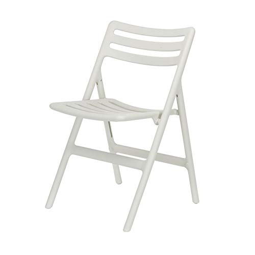Magis Folding Air Chair Klappbarer Stuhl Weiß