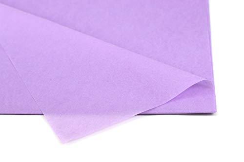 Creativery Seidenpapier - Tissue Papier 50 x 75cm 10 Bögen Gestalten Dekorieren Vepacken bunt Farbe Flieder 462H