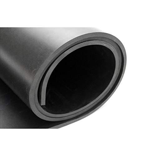 Rollo de plancha de goma SBR | Suelo para altas cargas de trabajo | Pavimento para garaje | Suelo para gimnasio (12 mm: Rollo de 1,4 x 5 metros)