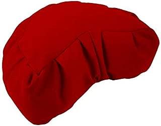 Bean Products Organic Zafu Meditation Cushion - Yoga - Multiple Colors,  Sizes and Fabrics - Organic Buckwheat Fill - Made in USA