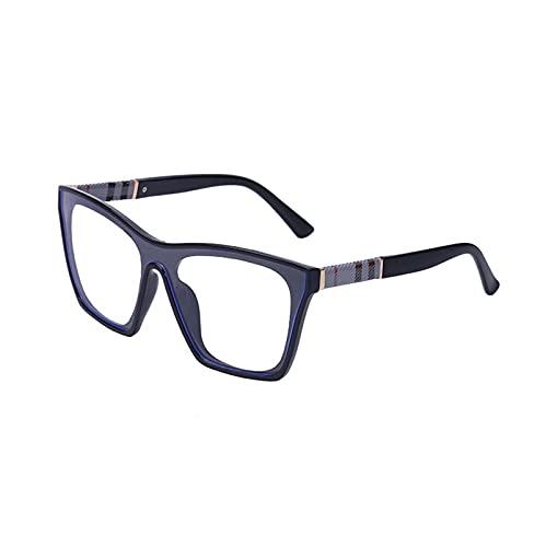 AMFG Gafas De Sol Cuadradas De Moda Hombres Y Mujeres Cool Glasses UV400, Caja De Los Gafas De Desgaste, Regalos De Vacaciones (Color : D, Size : M)