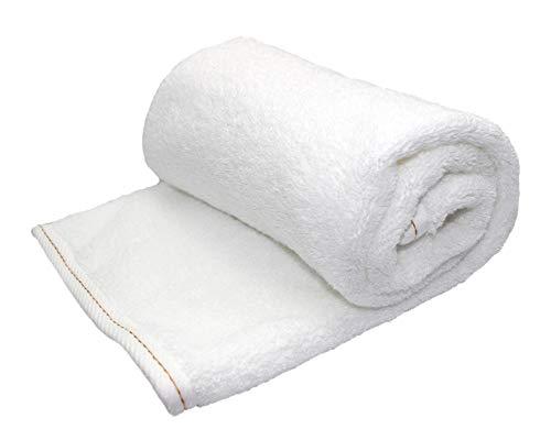 Floringo Handtuch Serie Dream-Line weiß 700g/m² High-End Ausstattung 95° waschbar (4 er Pack Handtuch 50x100 cm)
