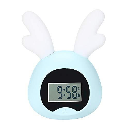 DLSMB-HO wekker, wake-up licht, intelligente led-elektronische wekker, kleurrijke zonsopgang, wake-up verlichting