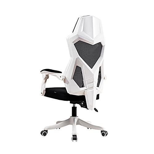 BAIHAO Silla de Oficina ergonómica con Respaldo y reposabrazos Silla giratoria de Malla para computadora reclinable Silla de Escritorio para Juegos de PC para el hogar
