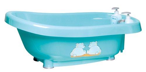 bébé-jou 616057 Thermobad Pompon türkis