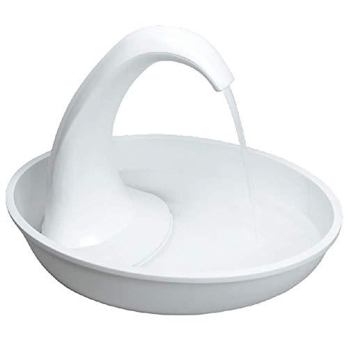 KSTORE Alimentador del Agua del Animal doméstico Cisne Fuen