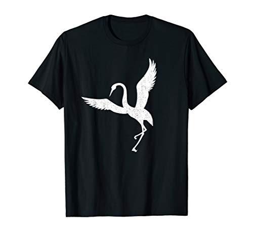 Vogelliebhaber Kran Fernglas Habicht T-Shirt