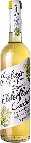 Belvoir - Sirop Fleur de Sureau Bio - Sans Édulcorants, Sans Conservateurs ni Colorants - Fleurs de Sureau Bio, Jus de Citrons Bio et Sucre Bio - Bouteille en Verre de 500 ml - Pack de 6