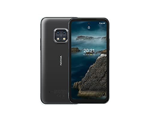 Nokia XR20, 6.67″ Full HD+ Bildschirm, 48MP Dual Kamera mit ZEISS-Optik, 15W Drahtlos- & 18W-Schnellladung, RAM 4GB/ ROM 64GB, Bedienbar mit nassen Händen & Handschuhen - Granite