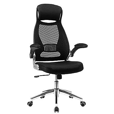 Diseño ergonómico: Como sabes, a nadie le gusta tener los músculos tensos en el trabajo. Afortunadamente, esta silla tiene un soporte lumbar, ayuda a tu cuerpo lo suficiente, permite que tu cuerpo se relaje mientras tu mente está activa Reposabrazos ...