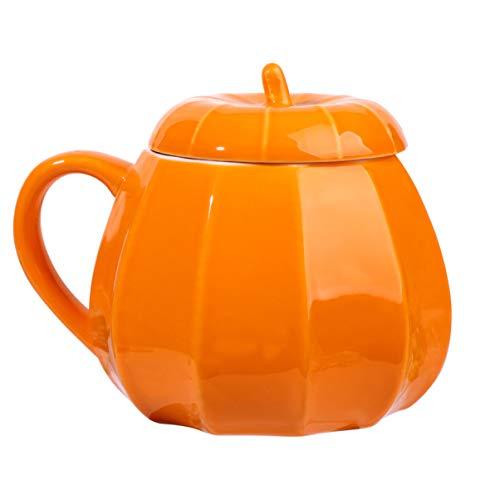 Cabilock Kaffeetasse Kürbis Tasse Kaffeetasse Teetasse Keramik Tasse Wasser Tasse für Home Office