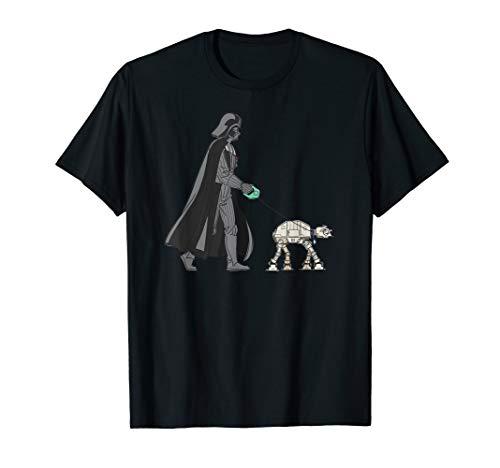 Star Wars Darth Vader the Dog Walker Meme T-Shirt