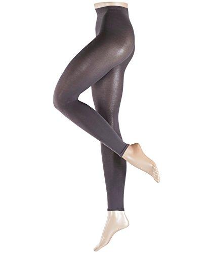ESPRIT Damen Cotton Leggings aus hautfreundlicher Baumwolle - Baumwollmischung, 1er Pack, Grau (Stone Grey 3988), 38-40
