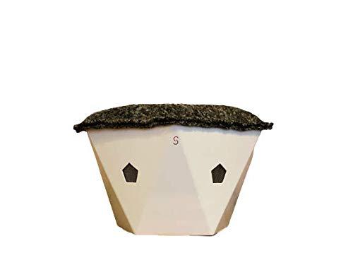 Purificador de aire conectado de bajo consumo energético, retiene los contaminantes presentes en el interior de la casa, ecológico y fabricado en Francia – Trata hasta 12 m2