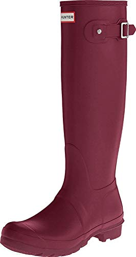 Hunter Women's Original Tall Wellington Boots, Violet - 11 B(M) US
