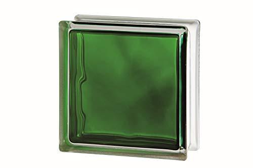 Bloque de Vidrio Verde Inyectado,...