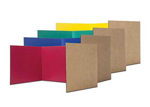 Flipside Products 61849 18' x 48' Privacy Shield, Color Assortment (Pack of 24)
