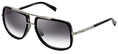 DITA Gafas de Sol MACH-ONE Matte Black Silver/Grey Shaded 59/17/127 hombre