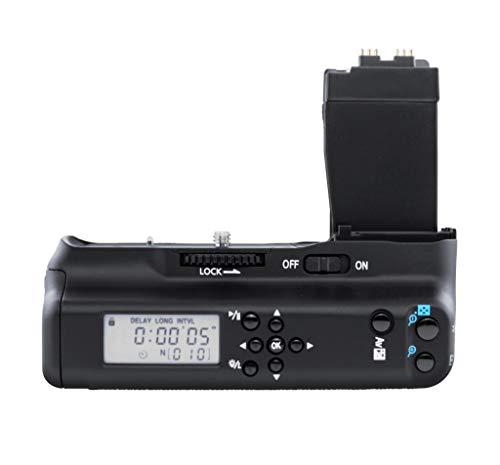 Meike Vertikaler Batteriegriff MK-550DL für Canon EOS Rebel T2i, 550D, Rebel T3i, 600D, Rebel T4i, 650D, Rebel T5i, 700D BG-E8