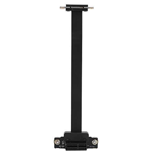 con Cable alargador axial, Cable Adaptador, Negro Estable para computadora de Escritorio