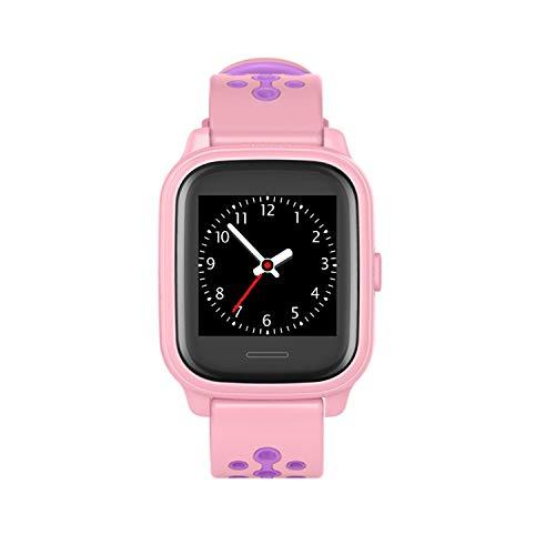 ANIO4 Touch GPS Kinder Smartwatch Smartphone Watch - Schutz für Ihr Kind - SOS Notruf - Telefonfunktion - Keine MONITORFUNKTION - GPS Kinder Uhr, Rosa