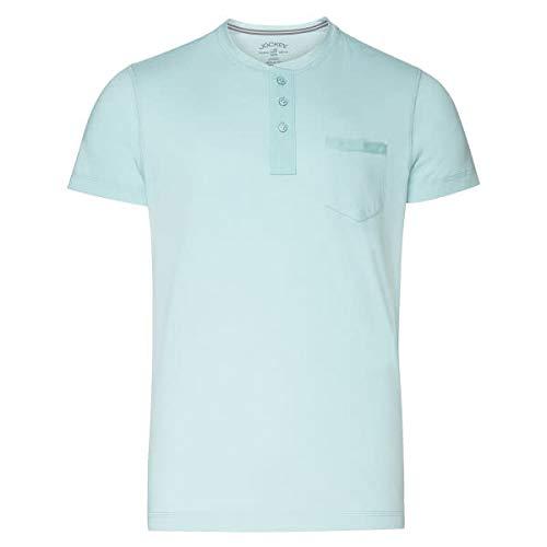 Jockey Henley - Camiseta de manga corta Sterling Blue M