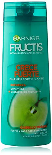 Garnier Fructis Crece Fuerte Champú Pelo Frágil, con tendencia a caerse - 360 ml
