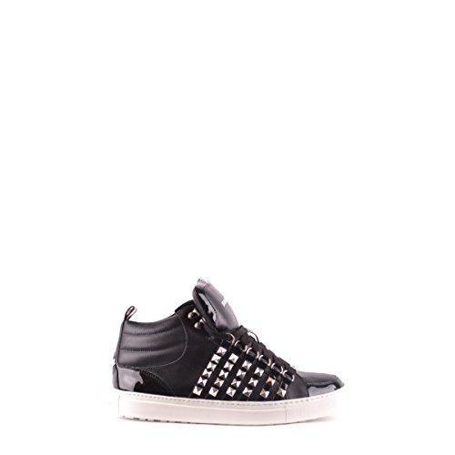 Dsquared2 Dsquared scarpe sneakers alte uomo in pelle nuove nero