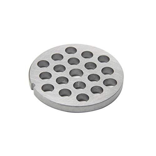 Sankuai Piezas de Repuesto de la Placa de la Plancha del Disco del Disco de la Rejilla del Molinillo de Carne for Bosch for el multipobor y el Propietario MFW66020 MFW67440 MFW68640