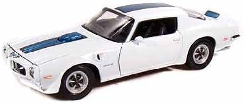 1972 Pontiac Firebird Trans AM 1 18 Weiß by Collectable Diecast