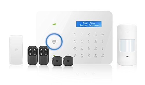 Chuango CG - B11 GSM / PSTN Dual-Network Touch Alarm System by Chuango