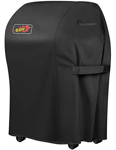 VicTsing Grill Cover, 30-Inch Waterproof BBQ Cover, 600D Heavy Duty Gas Grill Cover for Weber, Brinkmann, Char Broil, Holland and Jenn Air (Dust & Water Resistant, Weather Resistant, Rip Resistant)