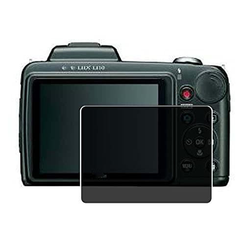 Vaxson Anti Spy Schutzfolie, kompatibel mit Nikon Coolpix L110, Displayschutzfolie Privatsphäre Schützen [nicht Panzerglas]