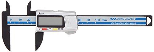 シンワ測定 デジタルノギス カーボンファイバー製 100mm 19978