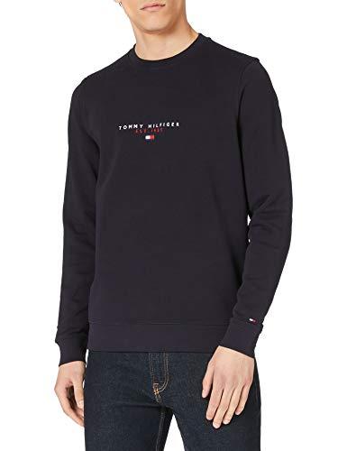 Tommy Hilfiger Herren Essential Tommy Crewneck Pullover, Wüstenhimmel, Large