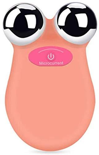 WLYX Massager Micro actuel Instrument de beauté EMS introduction Instrument de beauté du visage for éliminer l'acné et Shrink Pores (Color : Orangepowder)