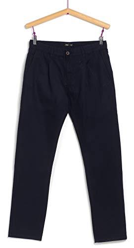 TEX - Pantalón Chino de Hombre, Azul Marino, 44