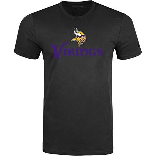 New Era Stack Logo Shirt - NFL Minnesota Vikings - M