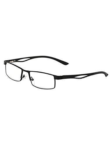 Halve Rand Rechthoek Stijl Leesbril Oog Bescherming - Mannen Dames Lichtgewicht Lezers Verminderen Vermoeide Ogen