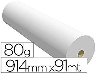 Navigator 914X91 80 - Papel reprografía para plotter, 914 mm x 91 m: Amazon.es: Oficina y papelería