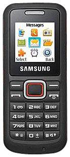 Samsung E1130 Smartphone mit 3,8cm Touchscreen (1,5Zoll, Radio FM, Bluetooth) Orange