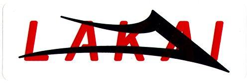 Lakai Skate Shoes Skateboard Sticker Black/Red 11.5cm Wide Approx. Skate Snow surf Board BMX