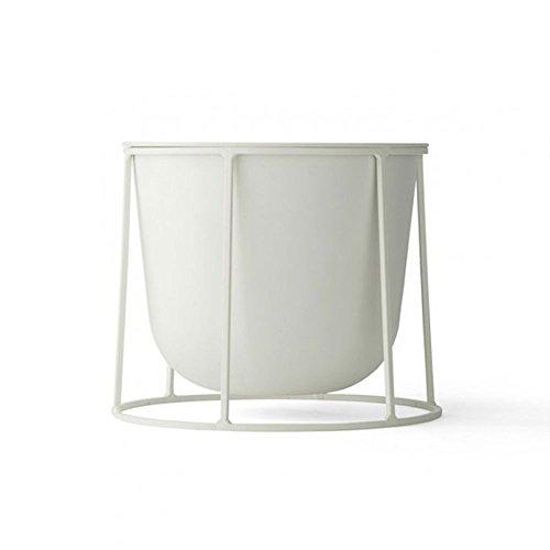 HTZ Cadre Pour Plantes Extérieur Moderne   Support De Fleurs Pour Balcon Simple Nordique   Support Pour Pot En Fer Pour Plancher De Salon Intérieur ++ (Couleur : A, taille : 41CM)
