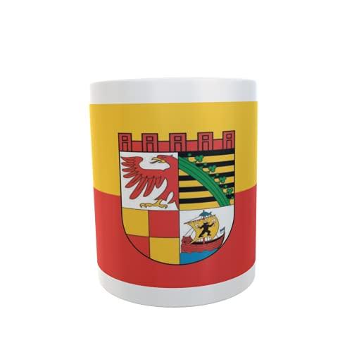 U24 Tasse Kaffeebecher Mug Cup Flagge Dessau-Roßlau