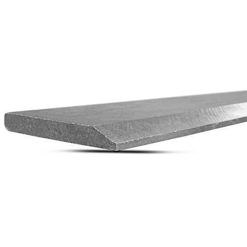 Titan 60' Bucket Cutting Edge Hardened 1055 Carbon Steel 1/2' Skidsteer Tractor Loader Blade Scraper