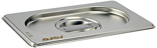 Saro Basic Line - Tapa para gastronomía (sin orificio para cuchara 1/9 GN)